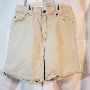 Arizona 26 waist sz 4 light khaki high waisted VTG